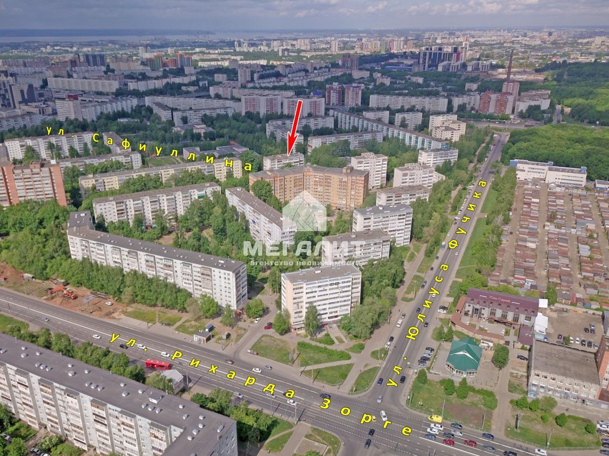 Продажа 2-к квартиры Сафиуллина ул, 26а